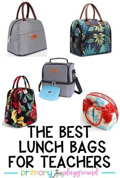 The Best Lunch Bags For Teachers  #lunchbox #lunchbag #teacherlunch #backtoschool #backtoschoolshopping #teachers