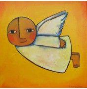 #Symbolismus #Surrealismus #naive Malerei von Helga Hornung auf artfan.de http://www.artfan.de/hornung-helga.html