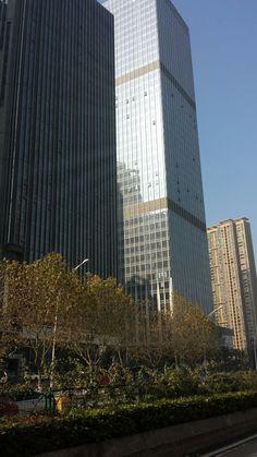 Wuhan, Skyscraper, Multi Story Building, China, Skyscrapers, Porcelain Ceramics, Porcelain