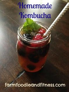 Make your own Kombucha! www.farmfoodieandfitness.com