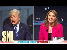 """Saturday Night Live"" poked fun at the dueling town halls President Trump and Democratic presidential nominee  Joe Biden participated in last week instead of what supposed to be their second debate."