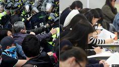 '대입 논술' 보는 14일 대규모 시위…교통대란 수험생 피해 우려 #korea #insight #수능 #수험생