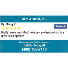 Highly recommend Marc! He is very professional and is a great public speaker.