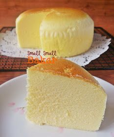 SmallSmallBaker.blogspot.co.uk Japanese Cotton Cheesecake