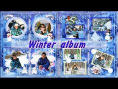 Зимний альбом /  Winter album /  free project for ProShow Producer
