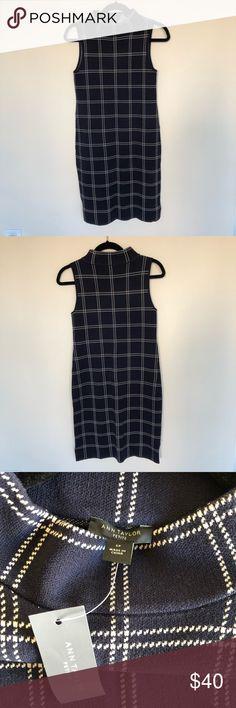 NWOT ZARA Knit colour block sweater maxi dress M