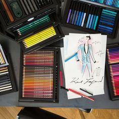 Karl Lagerfeld x Faber-Castell KARLBOX Drawing Set