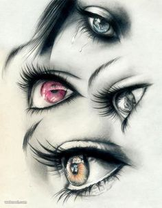 Drawing of eyes http://webneel.com/40-beautiful-and-realistic-pencil-drawings-human-eyes Design Inspiration http://webneel.com Follow us www.pinterest.com/webneel