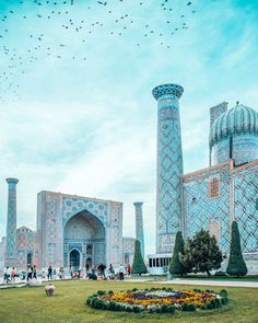 Top 9 Things To Do in Samarkand: The Silk Road Gem of Uzbekistan Cool Places To Visit, Places To Travel, Travel Destinations, Places To Go, Islamic Architecture, Beautiful Architecture, Beautiful Mosques, Beautiful Places, Travel Goals