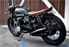 1975 Honda CB 550 by Seaweed and Gravel design