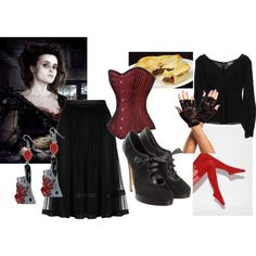 """Mrs Lovett"" by sirona-flett on Polyvore"