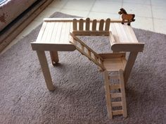 another neat looking gerbil play structure