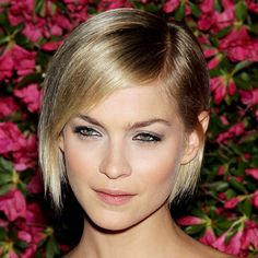 Leigh Lezark with sleek bob hairstyle - Short Hairstyles