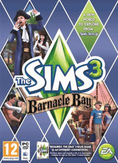 Sims 3 Barnacle Bay PC Games Cover Art