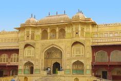#Amer-Fort - #Places To #Visit In #Rajasthan