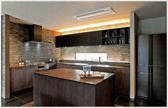 L型キッチン+アイランドカウンターの広々ダイニングキッチン [特集]住まいかた暮らしかた 暮らしのレター