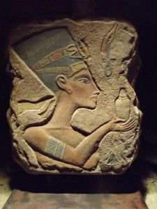 amarna art | Egyptian art - Nefertiti Amarna period relief sculpture replica. 18th ...