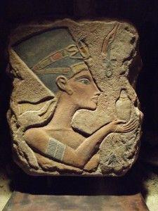 amarna art | Egyptian art - Nefertiti Amarna period relief sculpture replica. 18th ...