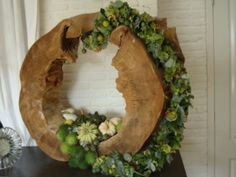 Lovely sculptural floral piece!