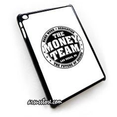 TMT The Money Team Hard Work Floyd Mayweather Logo iPad Case , iPad Mini Case , Ipad 2 3 4 Case