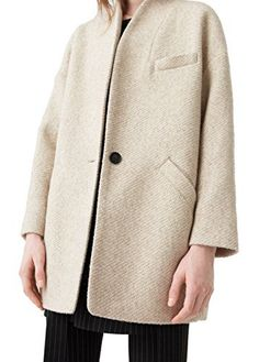 New Trending Outerwear: Mango Womens Cocoon Wool-Blend Coat, Beige, M. Mango Women's Cocoon Wool-Blend Coat, Beige, M  Special Offer: $129.99  133 Reviews Long sleeve, Side pockets, Lining, Button clasp Quo8Long sleeve, Side pockets, Lining, Button clasp Quo850% polyester,46% wool,2% polyamide,2% acrylic Lining: 100% polyesterNo washing, do not...