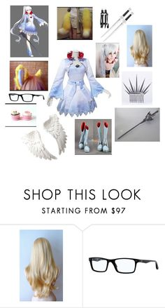 """Snow Angel as Snow Angel"" by fashion-anime-animals-reading ❤ liked on Polyvore featuring Ray-Ban"