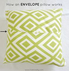 How to Make a Pillow with Glue   - 40 DIY Ideas for Decorative Throw Pillows & Cases - Big DIY Ideas
