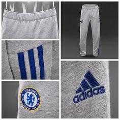 adidas Chelsea 15/16 3 Stripe Pants - Medium Grey Heather/Blue قیمت بعد از حراج:  تومان کد محصول:  استعلام موجودی و ثبت سفارش با کد محصول در تلگرام
