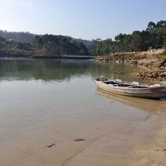 Esteiro en Punta Moreiras, O Grove. Un lugar paradisíaco.