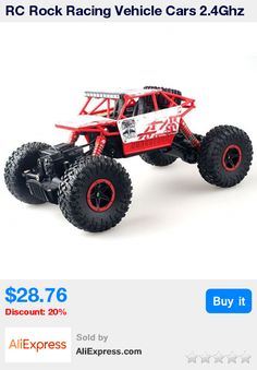 RC Rock Racing Vehicle Cars 2.4Ghz High Speed 1:18 Remote Radio Control Electric Crawler Buggy Hobby Car Crawler Truck Gift * Pub Date: 16:20 Jul 4 2017