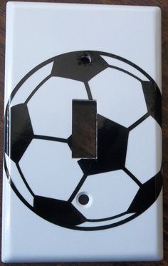 Soccer Ball Sports Boys Girls You Pick Color by ChrisCraftiedecor