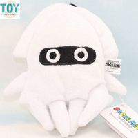 New White Super Mario Bros Squid Blooper Soft Plush Doll Anime Baby Dolls Toy Approx 15cm