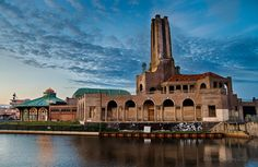 Great shot of our historic Power Plant and the Carousel Building