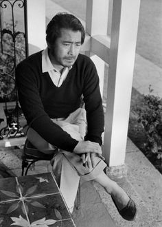 "putthison: ""Toshiro Mifune's Relaxed Style My favorite genre of film is older Japanese samurai movies. And you can't really be a fan without watching the catalogue of director Akira Kurosawa. Japanese Film, Japanese Men, Japanese Artists, Toshiro Mifune, Musashi, Hollywood, Great Films, Film Director, Feature Film"