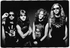 (very) young Metallica