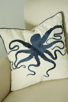 another octopus pillow