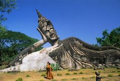 Buddha Park, Vientiane, Laos Places I Want to Visit