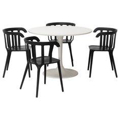 DOCKSTA / IKEA PS 2012 Stół i 4 krzesła - IKEA