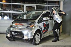Тест драйв электромобиля Mitsubishi i-Miev