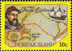 Norfolk Island 1994 Pacific Explorers Fine Mint SG 563 Scott 551 Other European and British Commonwealth Stamps HERE!