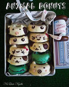 Cat Dog Animal Donuts