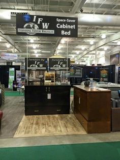 cabinetbed at a home show with international furniture wholesalers saskatoon saskatchewan