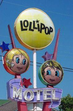 The Lollipop Motel in Wildwood, New Jersey is one of the Doo Wop Motels listed on the 11 Most Endangered List in 2006.
