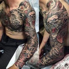 Vol tatoeage