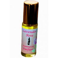 'Fiona' Organic Lavender Rose Perfume
