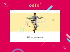 Oslo Wordpress Theme with Multilayer Parallax and FontParallax by Milo Themes