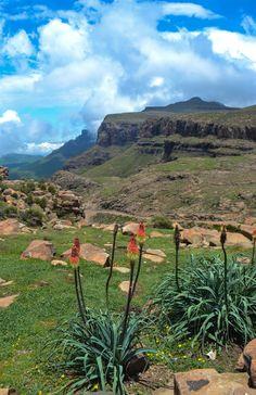 Sani Pass, Lesotho...African Landscape ...beautiful