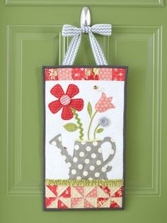 Welcome Home: Spring by Kim Christopherson of Kimberbell Designs - Quilts and More magazine Spring 2014
