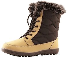 Women's DailyShoes Comfortable Round Toe Flat Ankle High Eskimo Winter Fur Snow Boots, 5 >>> Learn more by visiting the image link. Look Good Feel Good, Buy Shoes Online, Ankle Highs, Waterproof Boots, Snow Boots, Comfortable Shoes, Amazing Women, Women Jewelry, Toe