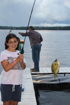 Fishing on Sand Lake